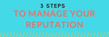 Manage Reputation