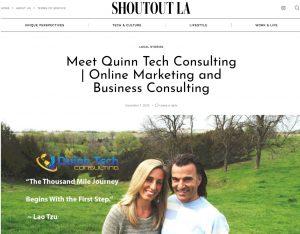 Shoutout LA Featuring Quinn Tech Consulting